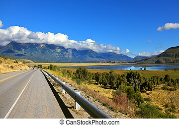 The picturesque Southern Andes - Patagonia The longest road...