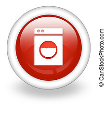 Icon, Button, Pictogram Laundromat - Icon, Button, Pictogram...