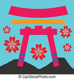 japan gate
