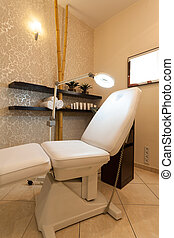 Professional chair for beauty theraphy at spa salon -...