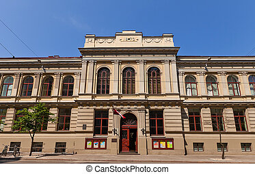 Jazeps Vitols Latvian Academy of Music (1873) in Riga,...