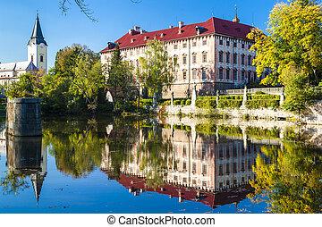 Libochovice, palazzo, ceco, repubblica
