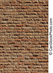 Wall background - Red Brick texture