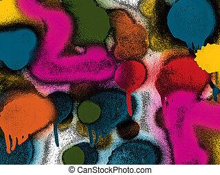 Abstrakt, Farben, hintergrund