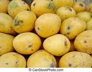 mangoes background