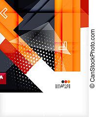Hi-tech futuristic modern background - Hi-tech modern design...