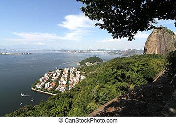 View over Rio de Janeiro, Brazil, South america