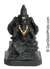 Hindu god statue - God Murugan, Shiva and Parvati son,...