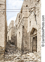 Ruins Birkat al mud - Image of ruins in Birkat al mud in...
