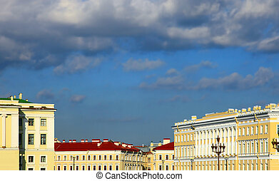 Saint Petersburg - Palace Square, Saint Petersburg, Russia....