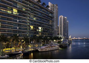 Downtown Miami Buildings - Miami, Florida, United States