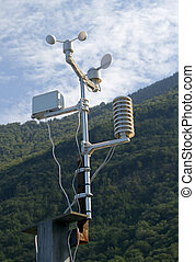 Meteorological weatherstation - Meteorological weather...