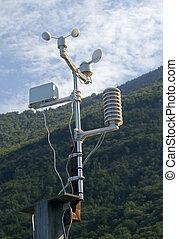 Meteorological weatherstation - Meteorological weather...