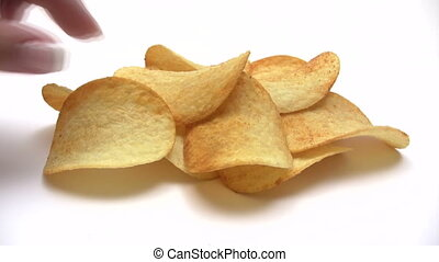 Eating Potato Chips - Time Lapse - Canon HV30 HD 16:9 1920 x...