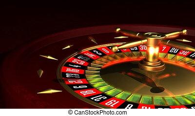 Roulette Wheel rotation