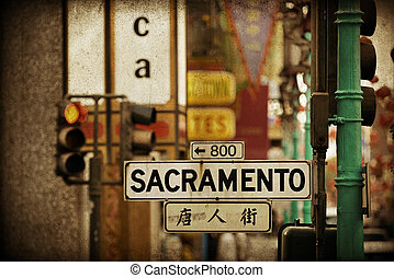 San Francisco street view - San Francisco, CA - MAY 11:...
