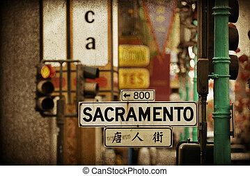 San Francisco street view - San Francisco, CA - MAY 11:...