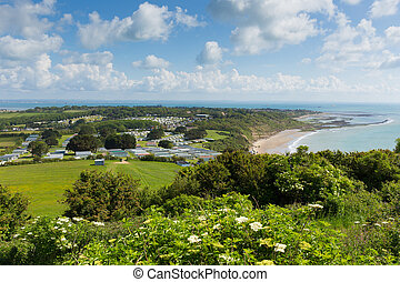 View Whitecliff Bay Isle of Wight - Whitecliff Bay Isle of...