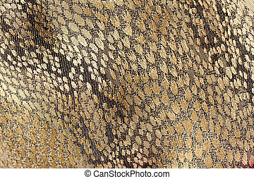 Gold fabric background texture