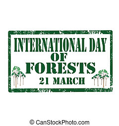 International Day Of Forests-stamp