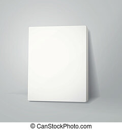 blank canvas or poster with pile of canvas - vector blank...