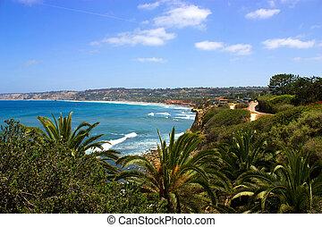 Wiev La Jolla - Ocean side suburb of La Jolla, San Diego,...