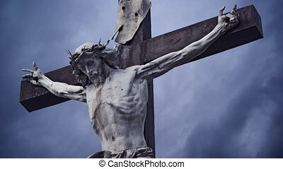 Crucifixion. Christian cross