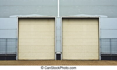 Industrial Unit door - Industrial Unit with roller shutter...