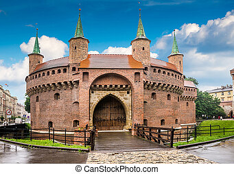 Krakow - Poland's historic center, a city with ancient...