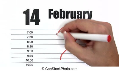 Valentine´s Day - Time Lapse - Canon HV30. HD 16:9 1920 x...