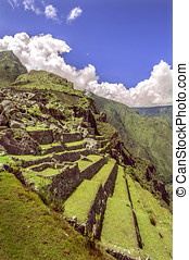 Picchu,  inca, ciudad,  (peru),  machu