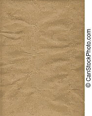 Brown Wrapping Paper Background - A background of brown...