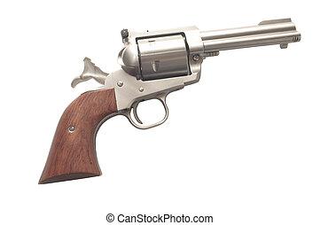 inoxidable, revólver