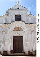 San Michele (Saint Michael) church, Anacapri. - San Michele...
