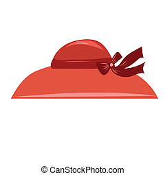 Vector illustration hats - Vector stylized image of a hat...