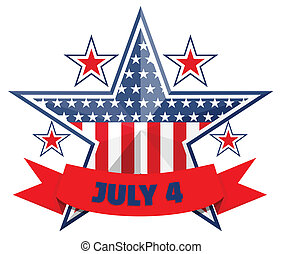 July 4 background