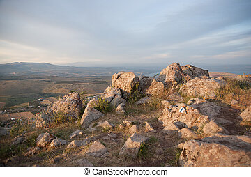 galilee landscape - Israel landscape a view to Kineret and...