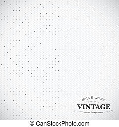 Vintage dotted vector background eps10