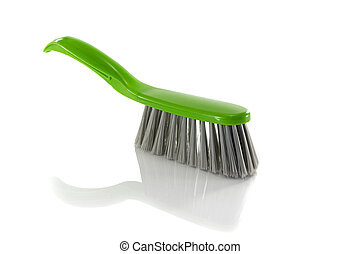 green brush