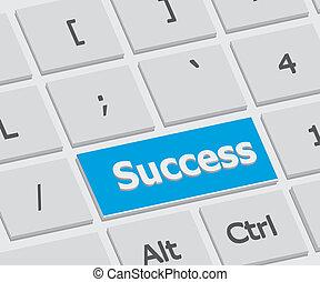 Success Enter Key - Enter Key show the success on dicision...