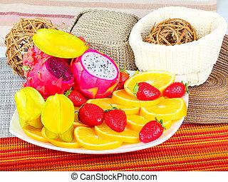 Exotic Fruit Dish