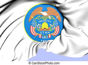 State Seal of Utah, USA.