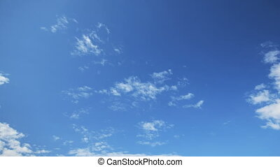 clear sky - clouds time lapse