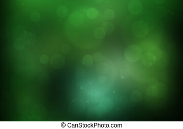 abstract green nature background, bokeh