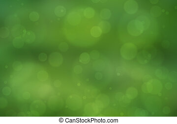 Abstrakt, hintergrund, grün,  bokeh, Natur