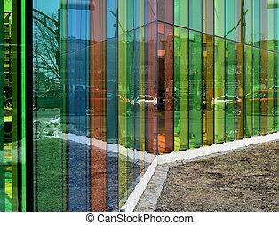 Colors - Maisoneuve boulevard, Gatineau seen through color...