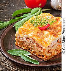 classique, lasagne