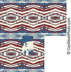 ethnic design vector art