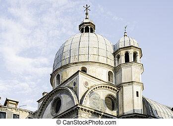 Santa Lucia church Venice Exterior