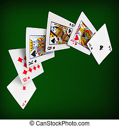 Playing cards poker casino - The combination of playing...